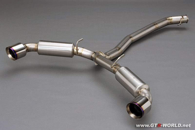 Nissan GT-R. That was the Sunline GTspec TiTANIUM SR street spec exhaust