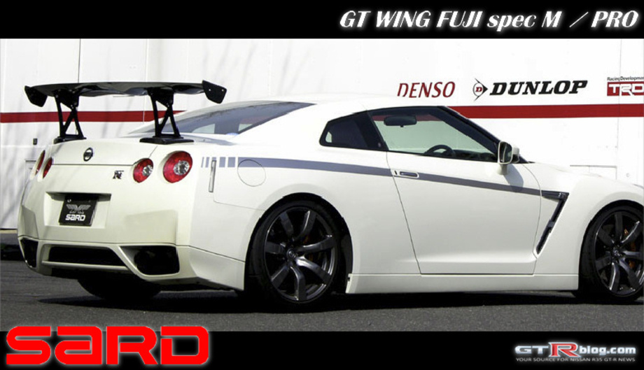 SARD GT-Wing FUJI SpecM for Nissan GT-R