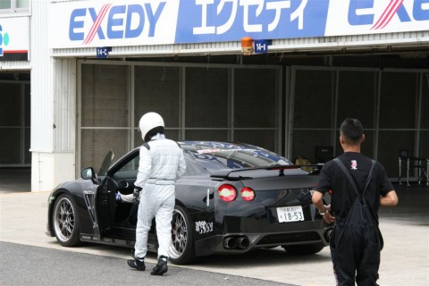 BBS LMR Wheels for Nissan GTR Track Testing