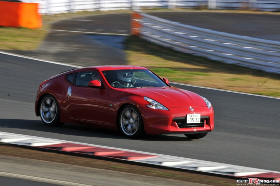 370z Passenger Ride along at Nismo Festival