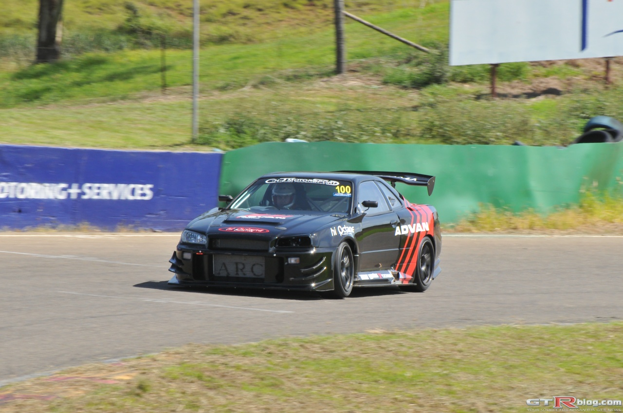HiOctane's Mental Time Attack R34 GT-R Prepping for World Time Attack ...