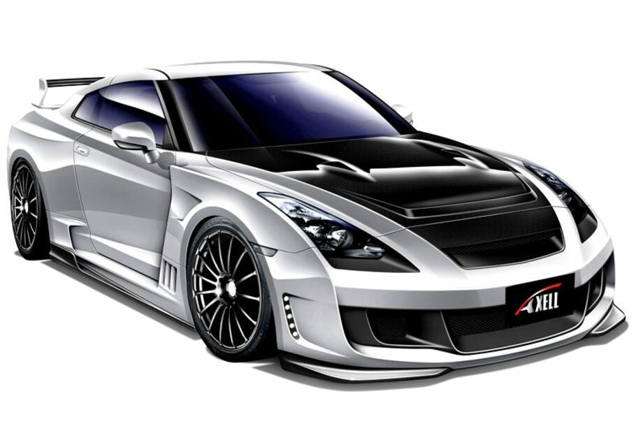 Axell Auto Wide Body GT-R